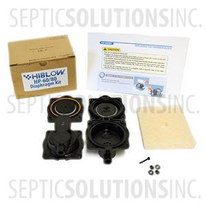 Diaphragm Replacement Kit for Hoot H365, H450, H500, H600, LA500, and LAR500 Air Pumps