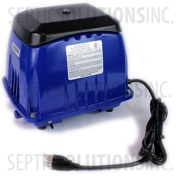 Cyclone SSX-80 Linear Septic Air Pump - Part Number SSX80