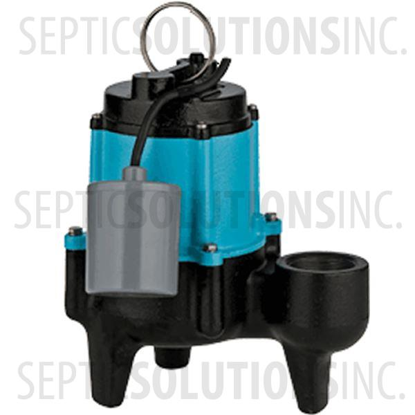 Little Giant Model 10sn Cia Rf 1 2 Hp Submersible Sewage