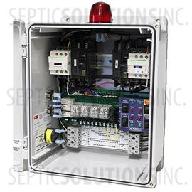 duplex sewage pump control panels same day shipping alderon check it duplex control panel elapsed time meters 120 240v 0