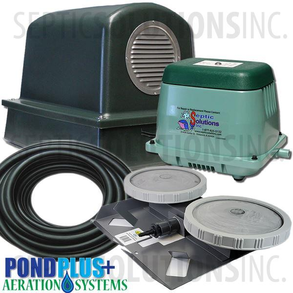 PondPlus+ P-O2 1501 Aeration System for Medium Ponds - Part Number PO21501