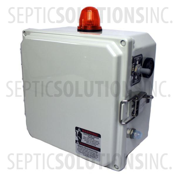 Regenerative Blower and Rotary Vane Timer Control Box with Alarm (120VAC, 10 FLA) - Part Number 80000-413-SB-JS