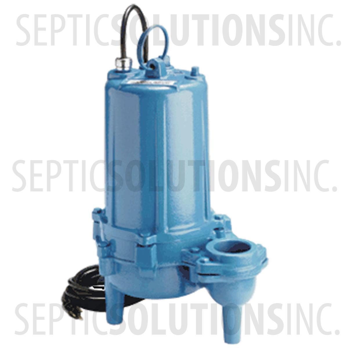 exceptional Sewage Ejector Pump Kit Part - 15: Little Giant Model WS52HAM 1-2 HP Submersible Sewage Ejector Pump - Part  Number 620255