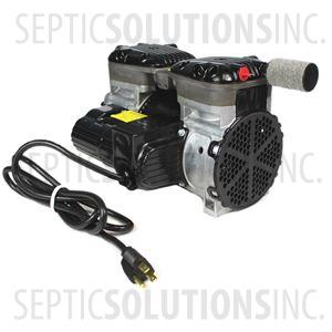 Gast 87R647 1/2 HP Rocking Piston Compressor for Pond and Lake Aeration