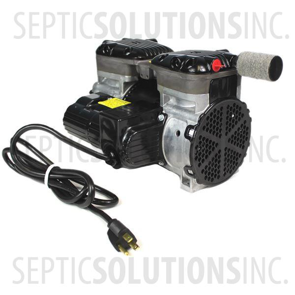 Gast 87R647 1/2 HP Rocking Piston Compressor for Pond and Lake Aeration - Part Number 87R647