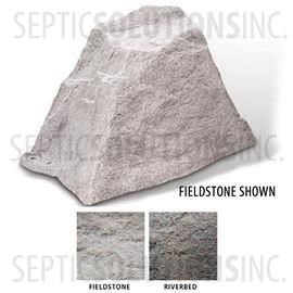 Fieldstone Gray Replicated Rock Enclosure Model 106