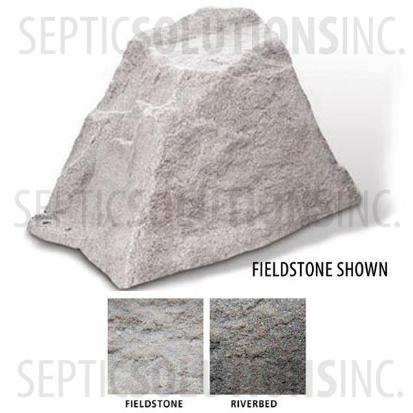 Fieldstone Gray Replicated Rock Enclosure Model 106 - Part Number 106-FS