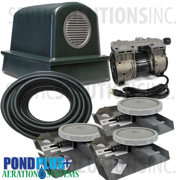PondPlus+ P-O2 TP3 Aeration System for Large / Deep Ponds - Part Number PO2TP3