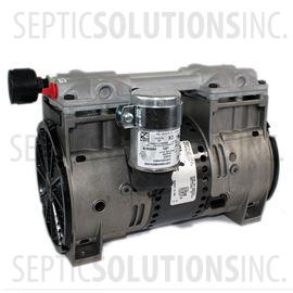 Thomas 2680 CE50 Wob-L Piston Compressor for Pond and Lake Aeration