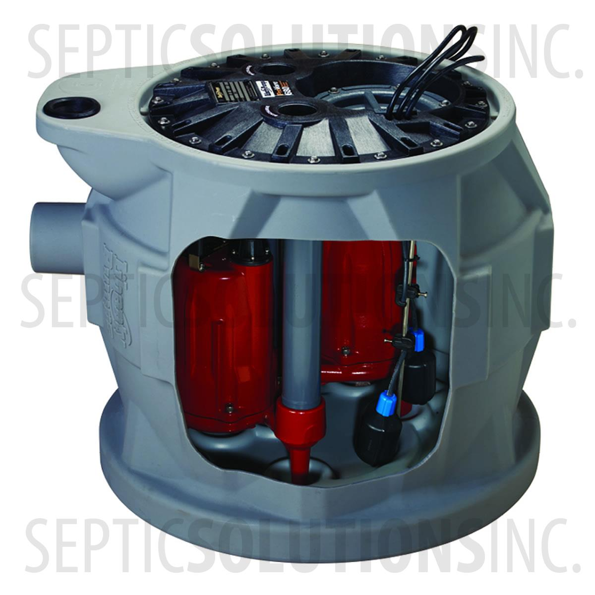 Liberty Provore 680 1 0 Hp Duplex Sewage Grinder System
