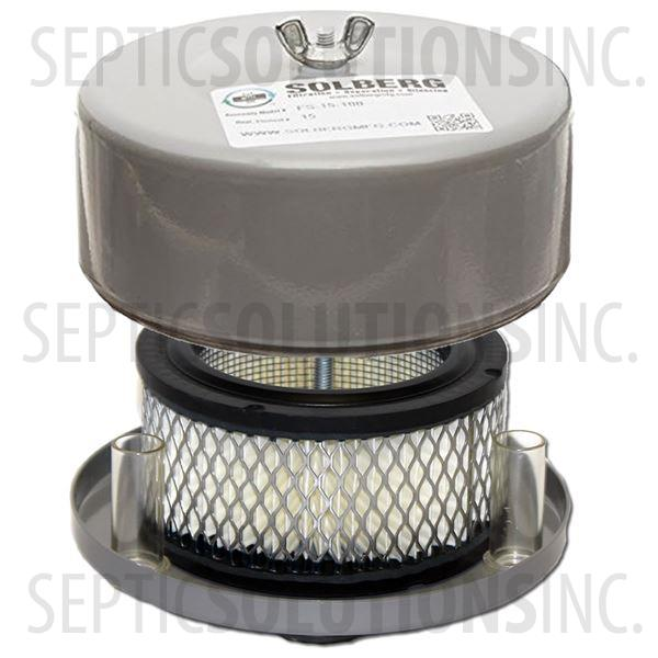 Intake Filter Assembly for 1'' Discharge Regenerative Blowers - Part Number FS-14-100