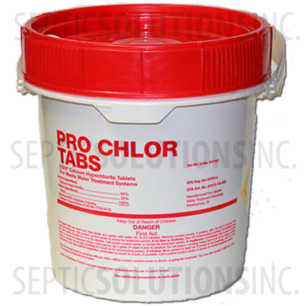 Pro Chlor 5lb Pail Of Septic Chlorine Tablets 47005
