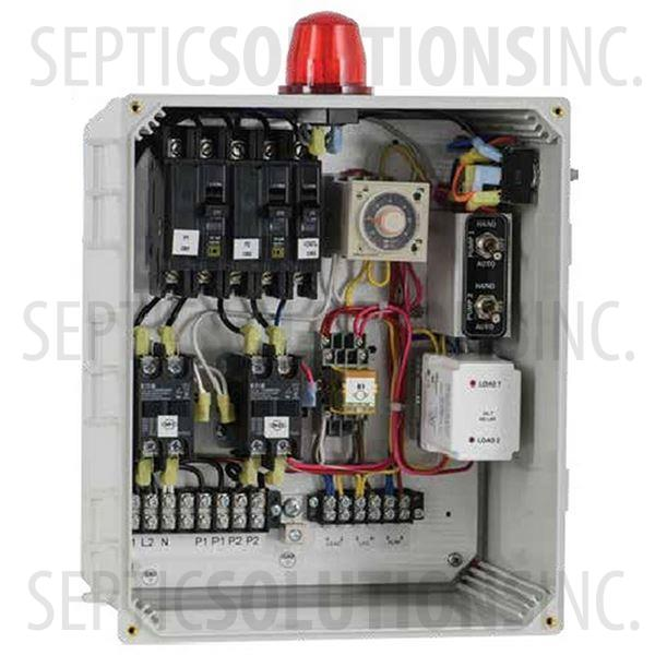 SPI Duplex Time Dosing Control Panel (120/230V, 0-20FLA) - Part Number 50A810