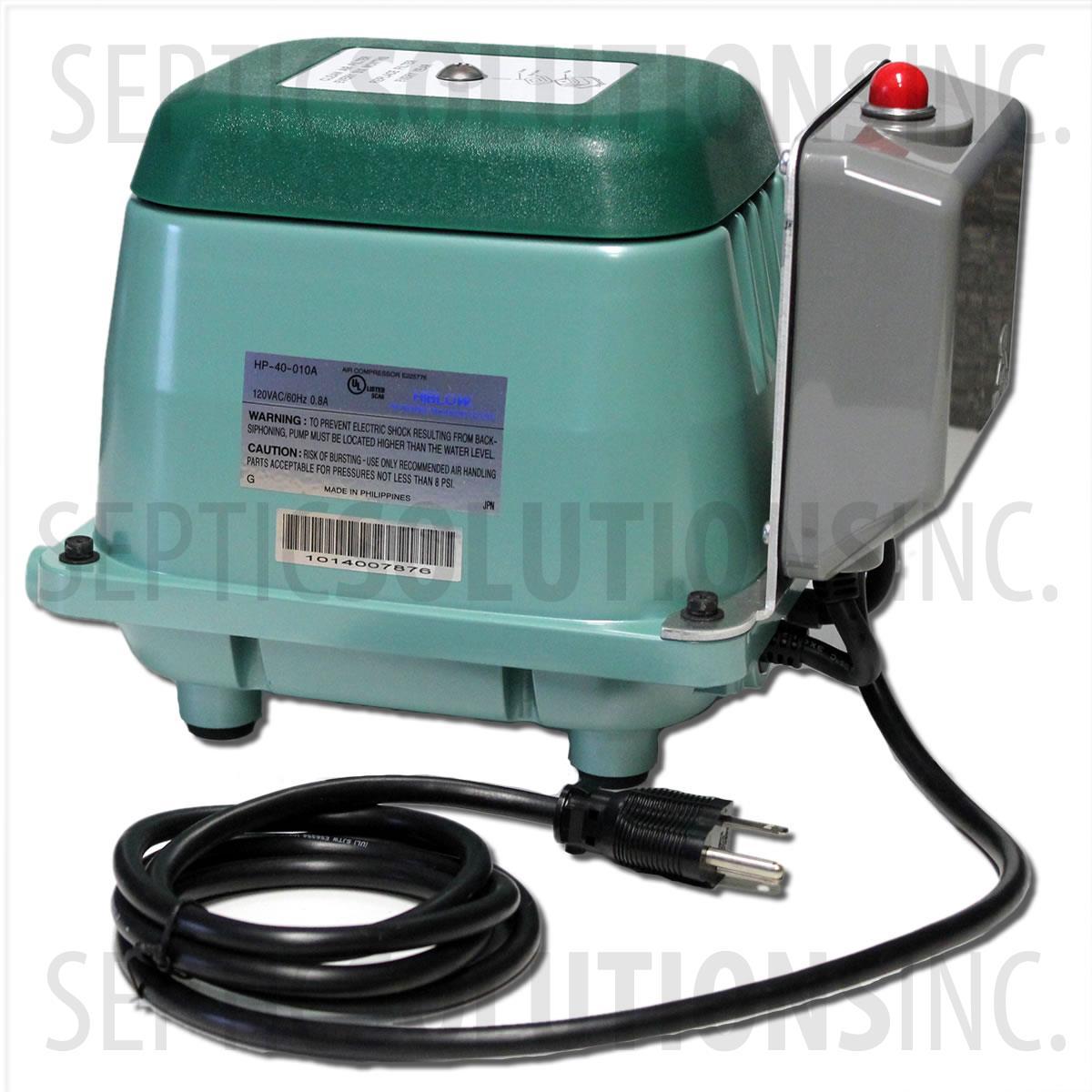 Enviro Flo Alternative 500 Gpd Linear Septic Air Pump With