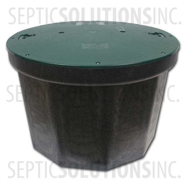 Polylok 10-Hole RhinoBox Distribution Box with Solid Cover - Part Number 3017-24-SC