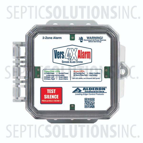 Alderon VersAlarm 4X Indoor/Outdoor Dual Zone Alarm - Part Number 7993
