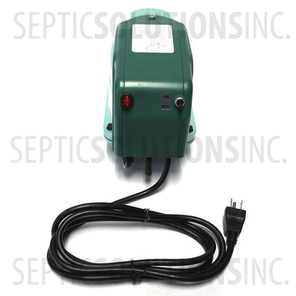 Hiblow XP-40A Economy Septic Air Pump with Attached Alarm - Part Number XP40A