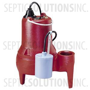 Liberty Pro370-Series Pre-Packaged Sewage Pump System with 1/2 HP Sewage Ejector Pump