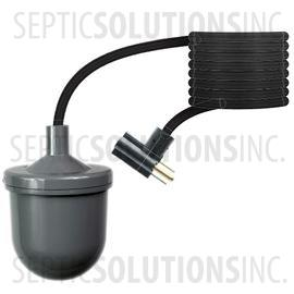 125Vac SJE Rhombus 1022042 Micromaster Plus Ws Pump Switch Up with Plug 2.86 lb. 30