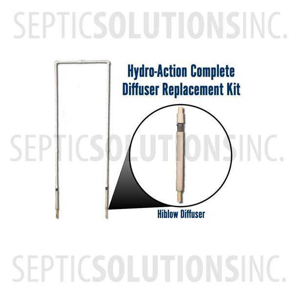 Hydro-Action NSF Approved Diffuser Replacement Kit - Part Number HA-DIFKIT