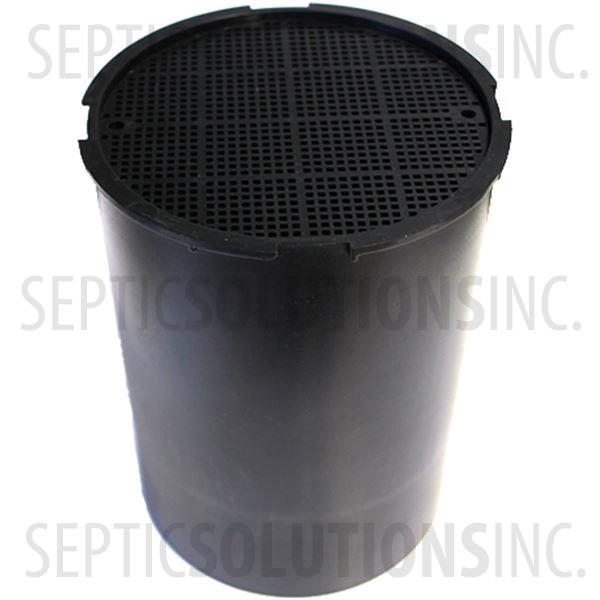 "Septic Solutions Activated Carbon Vent Pipe Odor Filter for 1.5"" PVC Vents - Part Number SSVF-1.5"