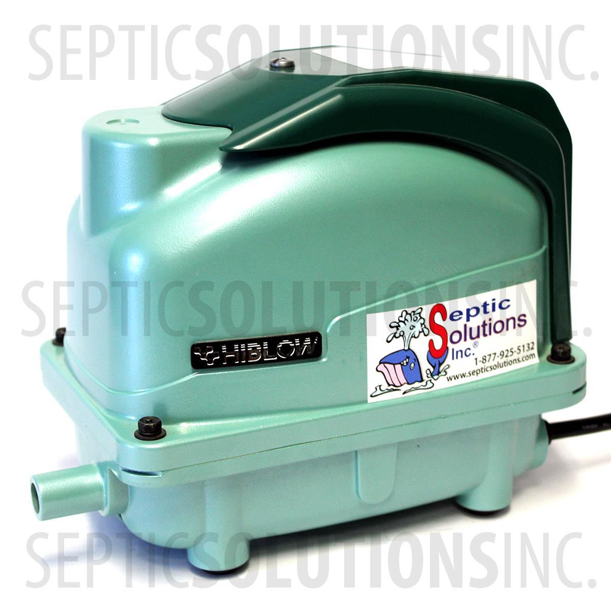Hiblow Xp 80 Septic Aerator Pump Fast Amp Free Shipping