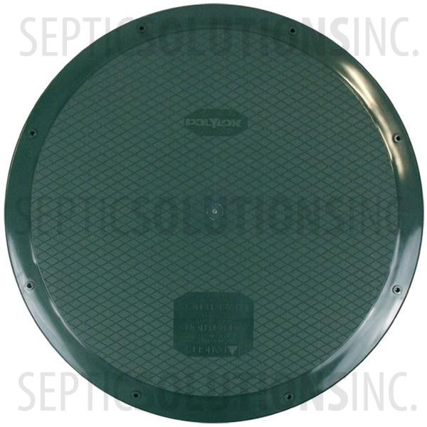 "Polylok 24"" Heavy Duty Septic Tank Riser Lid - Part Number 3008-WEST"