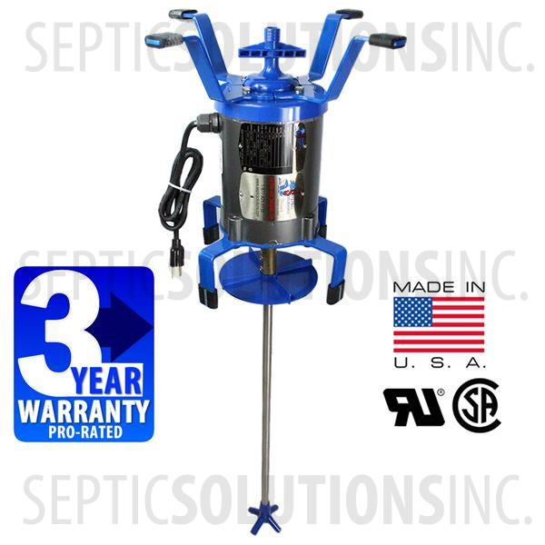 Ultra air septic tank shaft aerator comparable replacement for Septic tank aerator motor