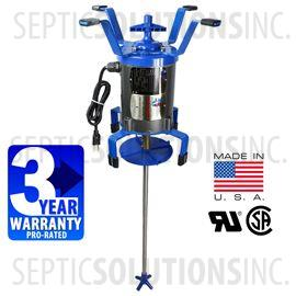 Ultra-Air Model 735 BLUE Septic Aerator - Alternative Replacement for Norweco Singulair Aerator