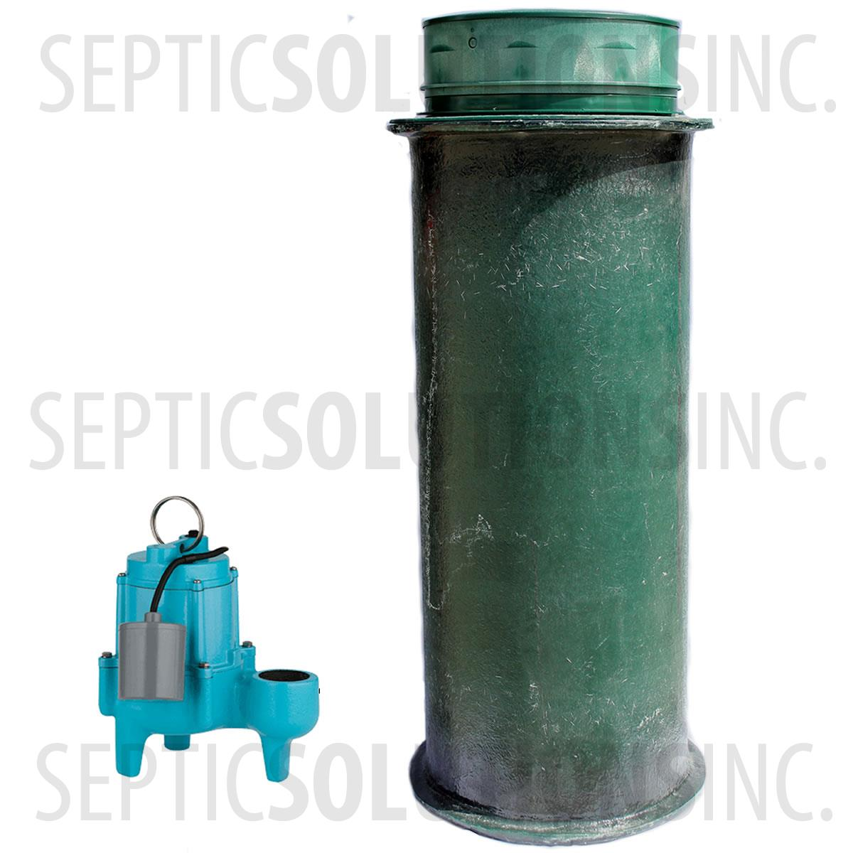 Sewage Pump Station Residential 120 Gallon Sewage Lift