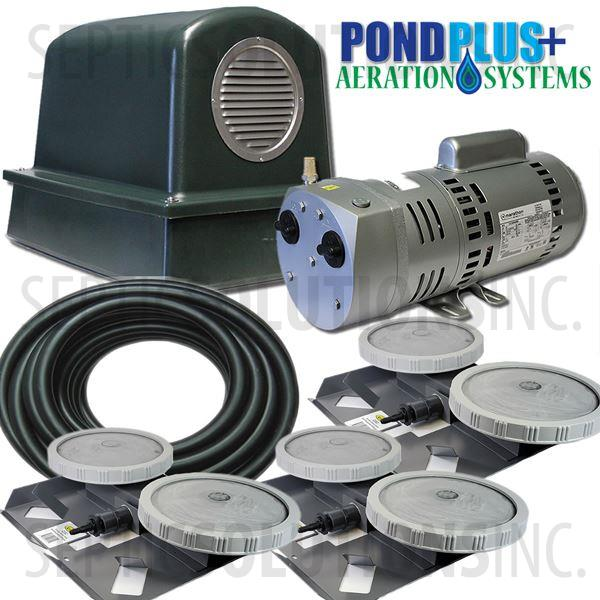 PondPlus+ P-O2 RV103 Aeration System for Small Lakes - Part Number PO2RV103