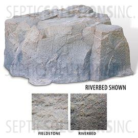 Riverbed Brown Replicated Rock Enclosure Model 111