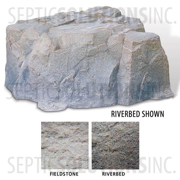 Riverbed Brown Replicated Rock Enclosure Model 111 - Part Number 111-RB