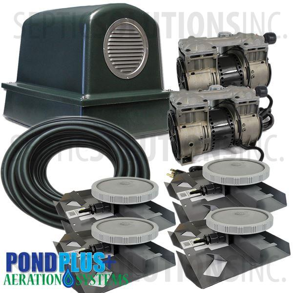 PondPlus+ P-O2 TP4 Aeration System for Large Deep Ponds - Part Number PO2TP4