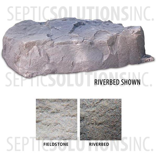 Riverbed Brown Replicated Rock Enclosure Model 112 - Part Number 112-RB