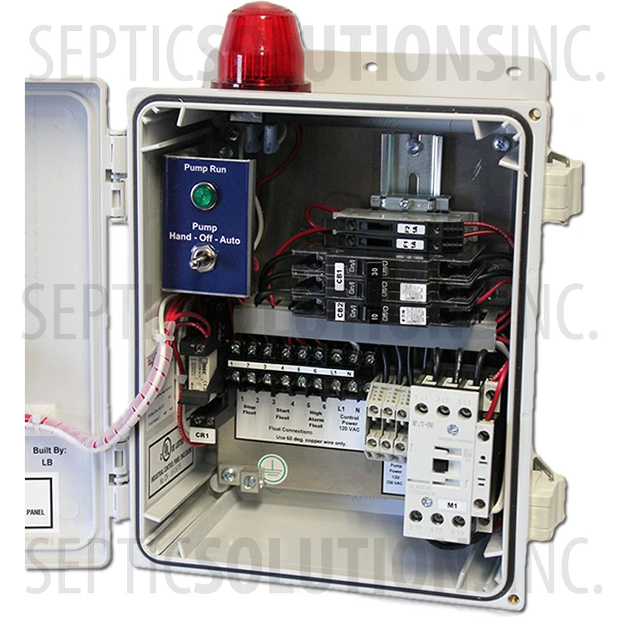 Lift Station Wiring 3 Phase Breaker Panel Great Installation Of Diagram Circuit Box Simplex Sewage Pump Control Panels Free Same Day Shipping Rh Septicsolutions Com Mine For Furnases