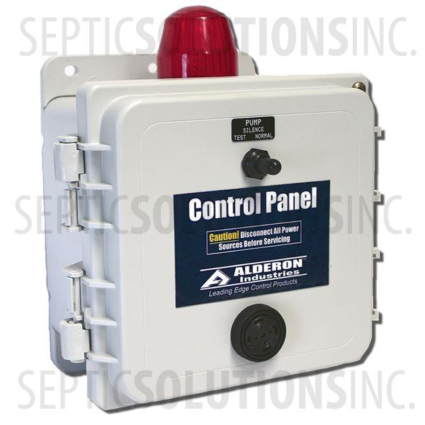 Alderon Two-Breaker Economy Simplex Control Panel (120V, 0-20FLA) - Part Number A20000