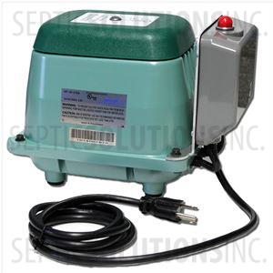 Hiblow HP-40 Linear Septic Air Pump with Attached Alarm