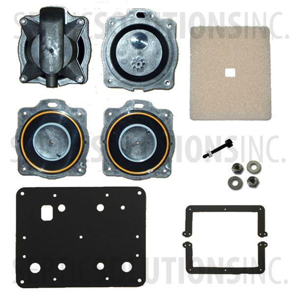 Hiblow HP-100 and HP-120 Complete Diaphragm Replacement Kit - Part Number HP100120Kit