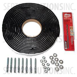 Adapter Ring Installation Anchor Kit with Sealant Rope