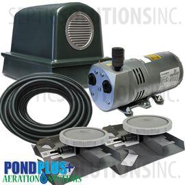 PondPlus+ P-O2 RV052 Aeration System for Medium Deep Ponds
