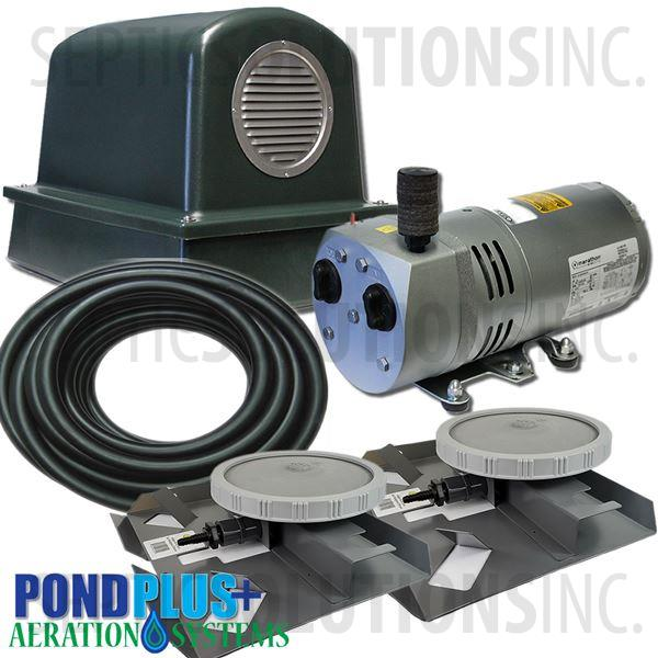 PondPlus+ P-O2 RV052 Aeration System for Medium Deep Ponds - Part Number PO2RV052