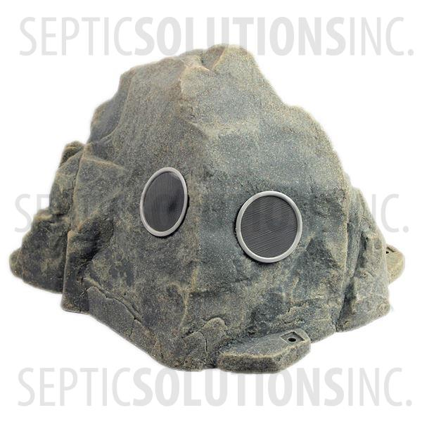 Fieldstone Gray Vented Replicated Rock Enclosure Model 109 - Part Number 109-FS-3V