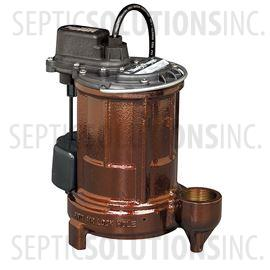 Liberty 250-Series 1/3 HP Cast Iron Submersible Sump Pump