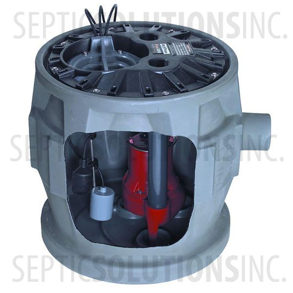 Liberty Pro380-Series Pre-Packaged Sewage Pump System with 4/10 HP Sewage Ejector Pump - Part Number P382LE41